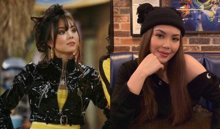 Elenco de serie Hannah Montana antes y ahora, Ashley DeWitt interpretada por la actriz Anna Maria Perez