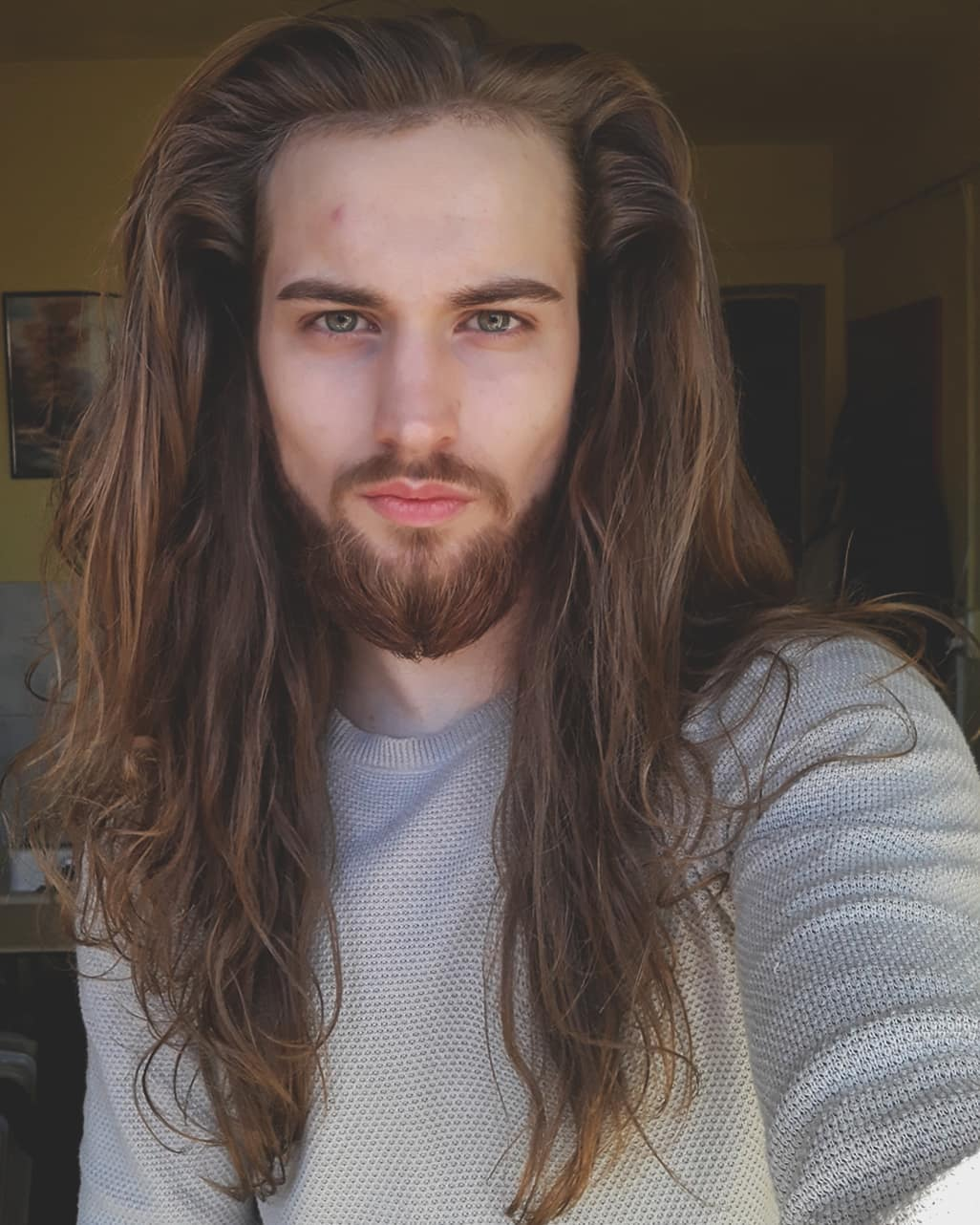 De última generación peinados pelo largo hombre Galería de cortes de pelo Consejos - El pelo mas largo del mundo hombre - Peinados con trenzas