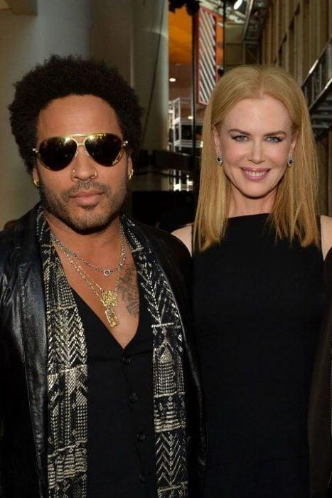 Nicole Kidman y Leny Kravitz casi se casan
