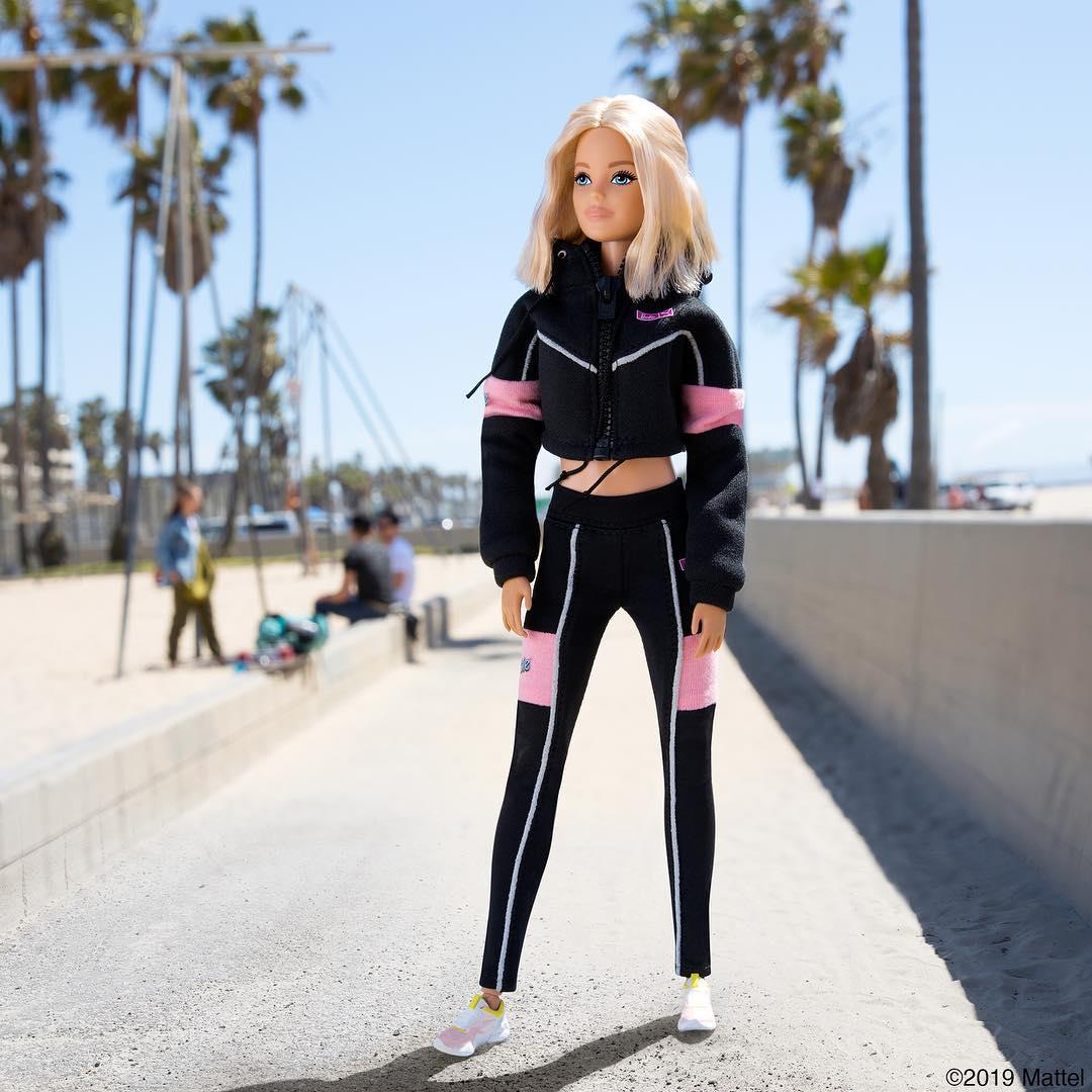 puma mujer barbie