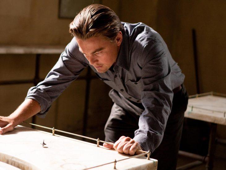 El actor Leonardo Di Caprio en la cinta El Origen