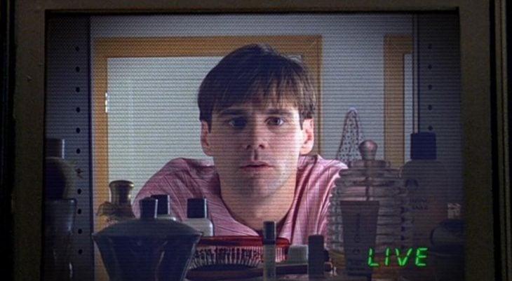 El actor Jim Carrey en la cinta El Show de Truman