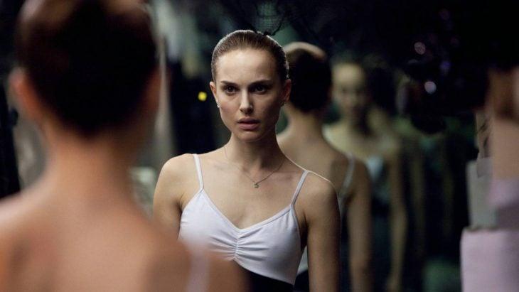La actriz Natalie Portman en la cinta El Cisne Negro