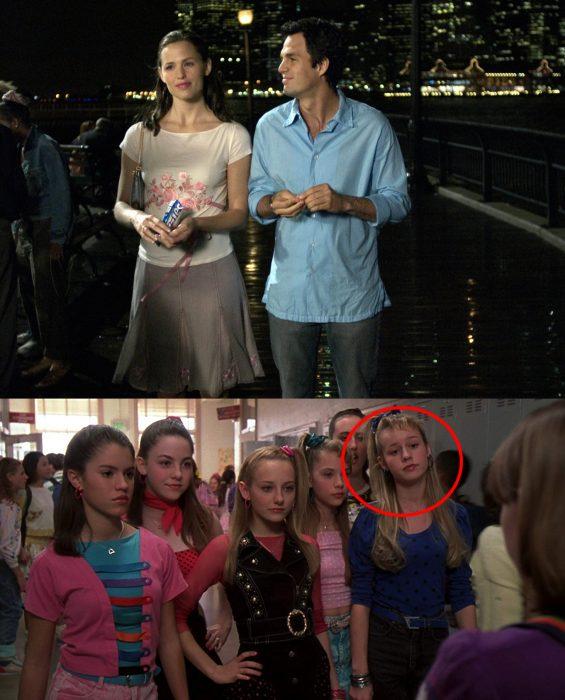 Escena de la película Como si tuviera 30 en la que aparecen Mark Ruffalo y Brie Larson