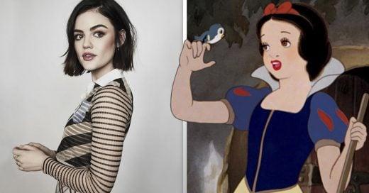 Cover Actrices que podrían interpretar a las princesas Disney por su parecido con ellas