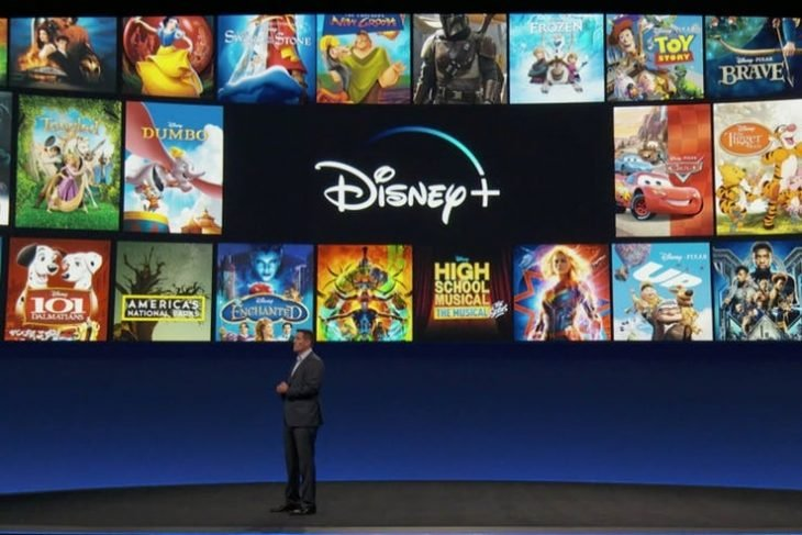 La presentación de la plataforma de streaming Disney Plus
