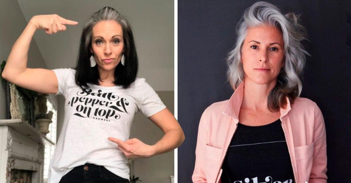 Cover Mujeres dejan de teñirse el cabello para abrazar sus canas naturales