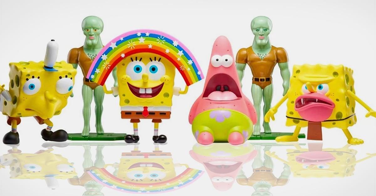 Nickelodeon lanza figuras coleccionables de los memes de Bob Esponja; morirás de risa
