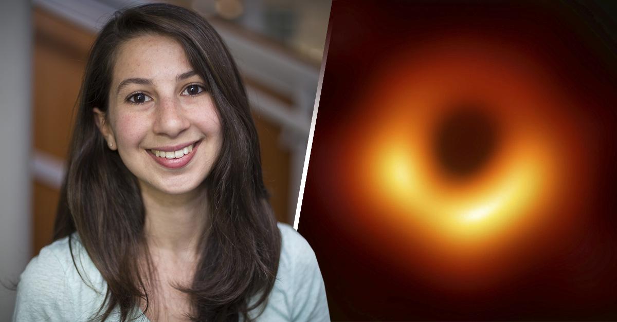 Cover Katie Bouman, la mujer que logró capturar la primera imagen de un agujero negro