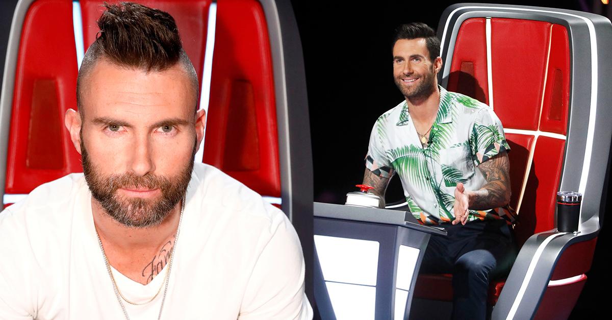 Levine le dice adiós a la silla roja de La Voz