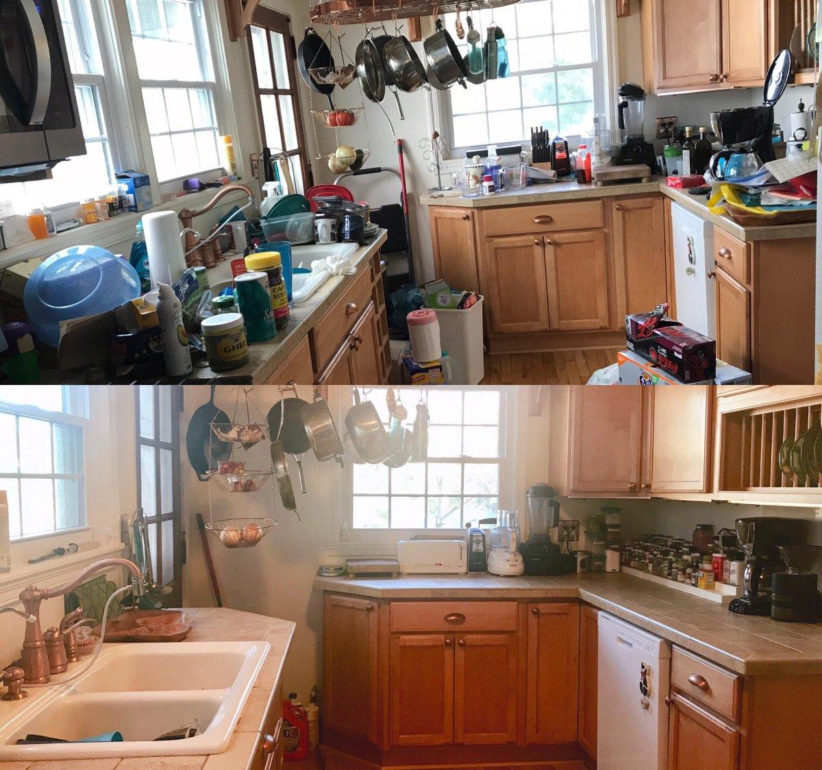 Imagenes Del Antes Y El Despues De Habitaciones Desordenadas