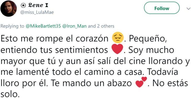 Papá comparte en Twitter que su hijo lloró hasta dormirse abrazado de sus juguetes de Iron Man después de ver la muerte de Tony Stark en Avengers: Endgame