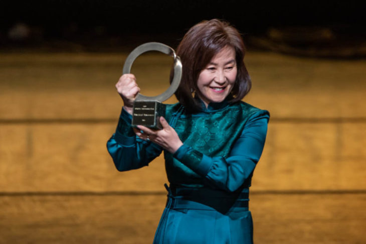 Bayarjargal recibe premio Goldman 2019 en Asia