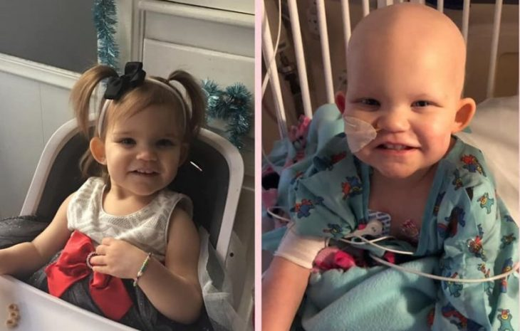 Callie, la pequeña de 18 meses con cáncer