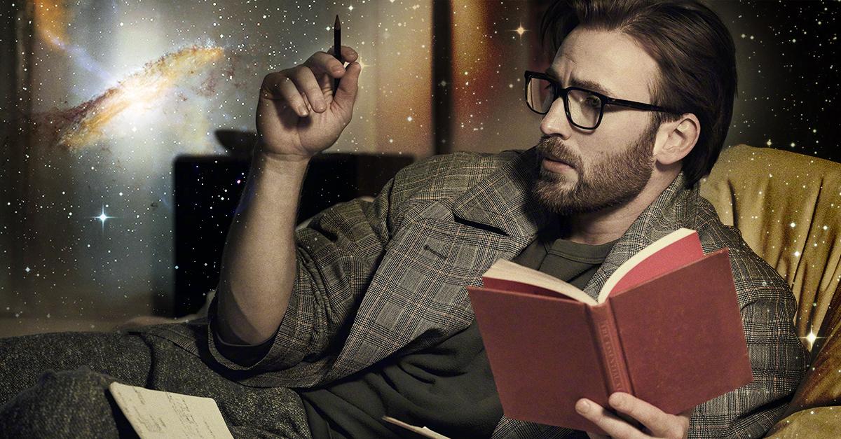 Chris Evans reflexiona sobre los agujeros negros