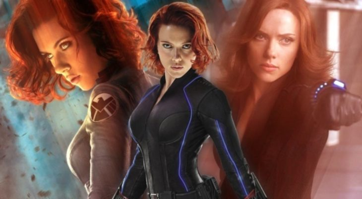 Poster Black Widow en Avengers