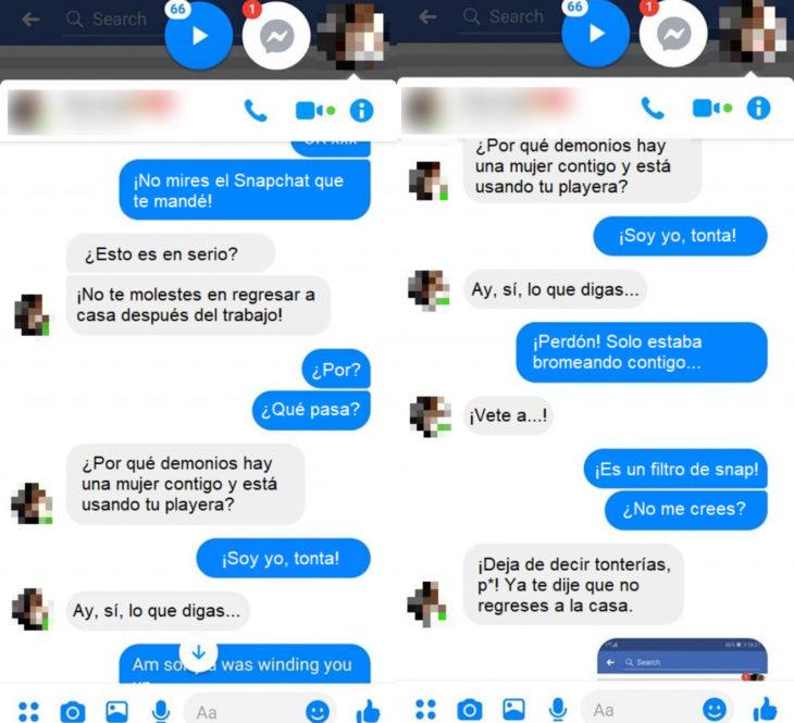 Ryan Hill, chico le hace una broma a su novia con el filtro de Snapchat que cambia de género