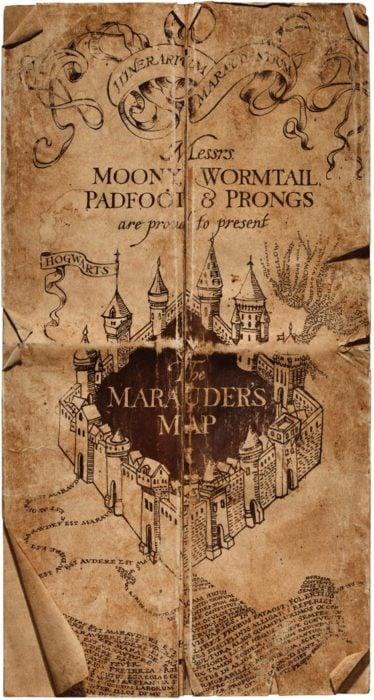 Sfondi ispirati alla mappa di Harry Potter Marauder
