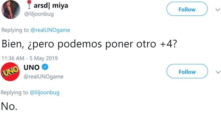 El juego de mesa UNO revela las reglas del juego: no se pueden acumular cartas, y usuarios de Twitter reaccionan con mensajes