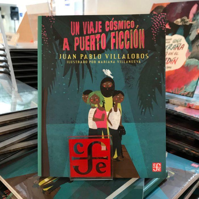 Portada del libro Un viaje cósmico a Puerto Ficción de Pablo Villalobos
