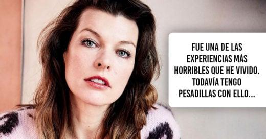 Milla Jovovich comparte la desgarradora experiencia de su aborto