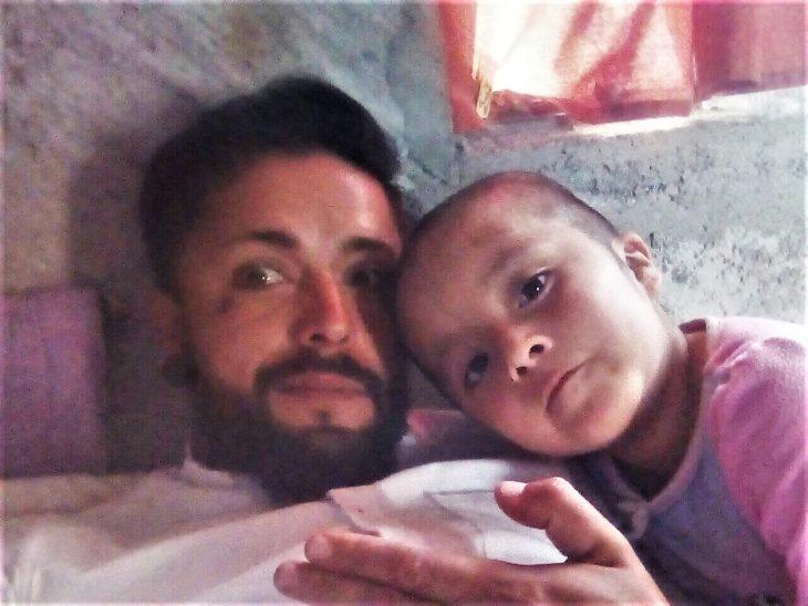 Naydelin Liera y su papá Francisco Liera Mayoral