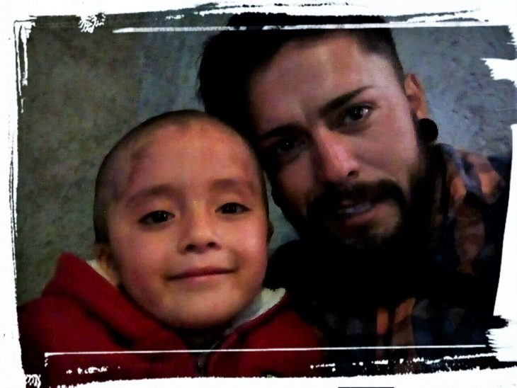 Naydelin y Francisco Francisco Liera Mayoral tomándose una selfie