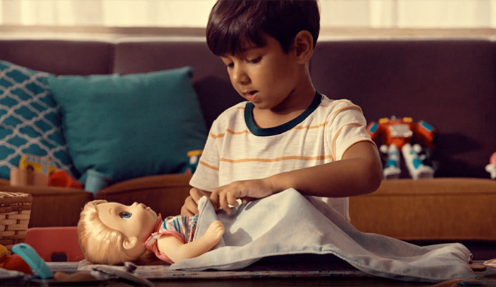 Campaña de Hasbro Baby Alive