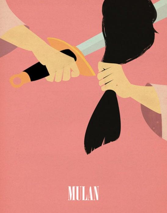Poster vintage del clásico de Disney