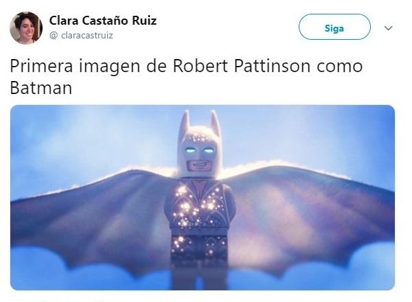 Tuit sobre Robert Pattinson como el nuevo Batman, Batman Lego