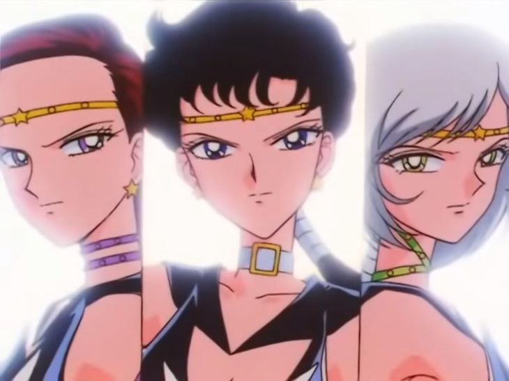 Curiosidades sobre caricatura Sailor Moon; Sailor Stars
