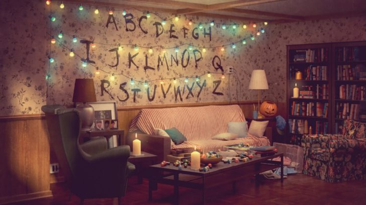 Ikea lanza colección de salas de famosas series; estancia de Stranger Things; The Real-Life Series