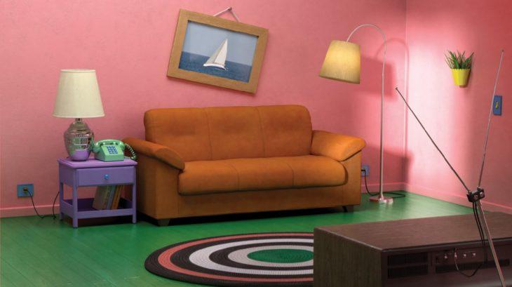 Ikea lanza colección de salas de famosas series; estancia de Los Simpson; The Real-Life Series