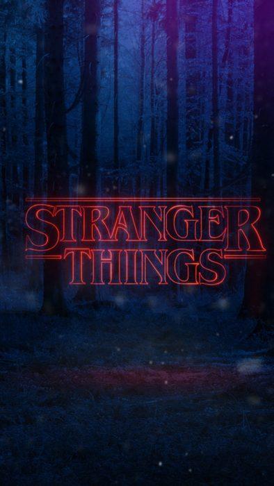 Wallpapers de serie Stranger things; fondo de pantalla para celularpara celular