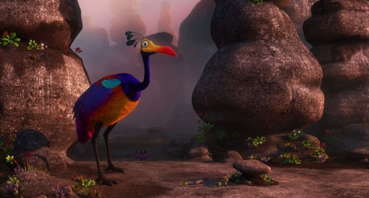 Curiosidades de película de Disney-Pixar, Up: una aventura de altura; pájaro Kevin