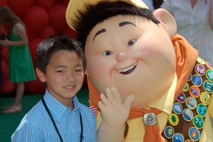 Curiosidades de película de Disney-Pixar, Up: una aventura de altura; Jordan Nagai, voz en inglés de Russell