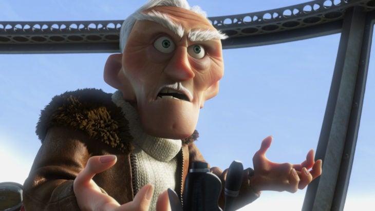 Curiosidades de película de Disney-Pixar, Up: una aventura de altura; villano Charles Muntz