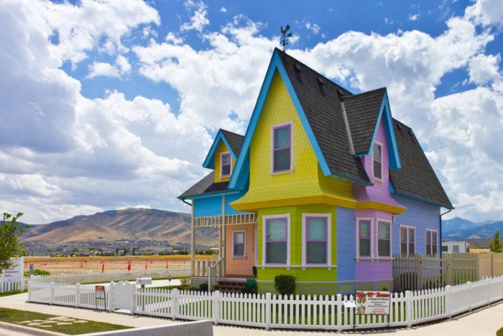 Curiosidades de película de Disney-Pixar, Up: una aventura de altura; casa real de Carl y Ellie en Utah