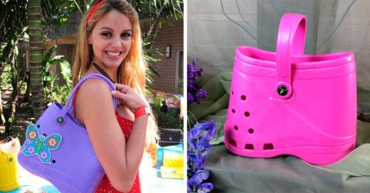 Una compañía eligió recrear los modelos de Crocs, pero esta vez en forma de bolsa