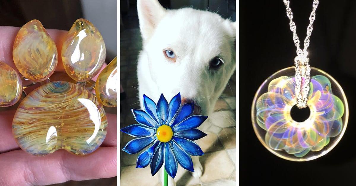 Empresa utiliza las cenizas de mascotas para crear joyas