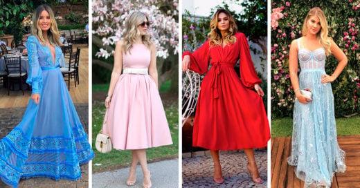 19 Vestidos para lucirte en un boda al aire libre