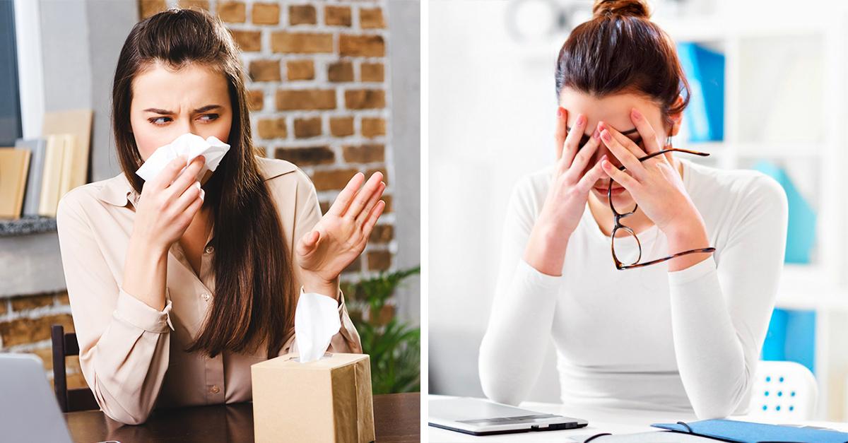 Estrés y ansiedad causa rinitis
