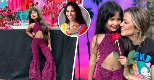 Esta pequeña tuvo una fiesta de cumpleaños al estilo de Selena