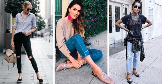 15 Flats que te harán verte y sentirte casual y elegante