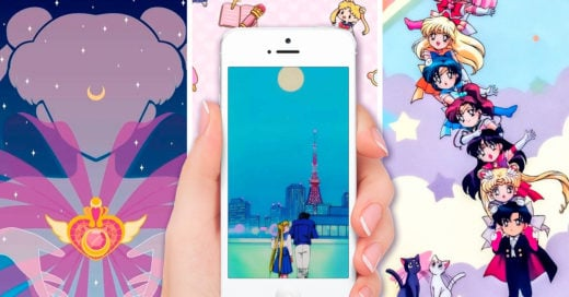 15 Fondos de pantallas inspirados en Sailor Moon