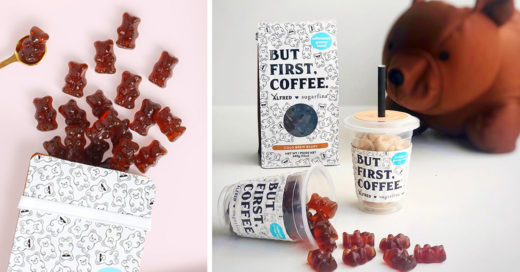Crean gomitas de café