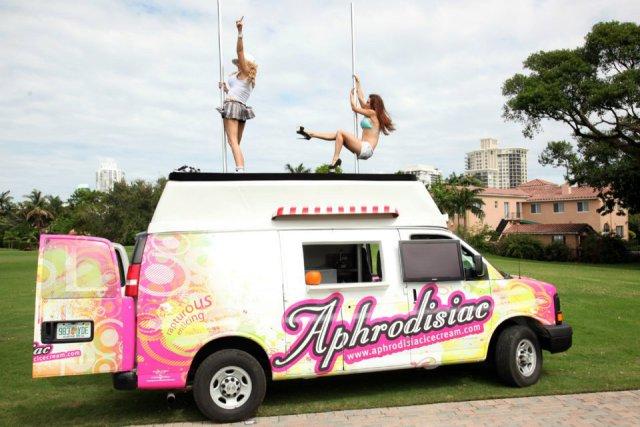 camioneta de helados afrodisíacos