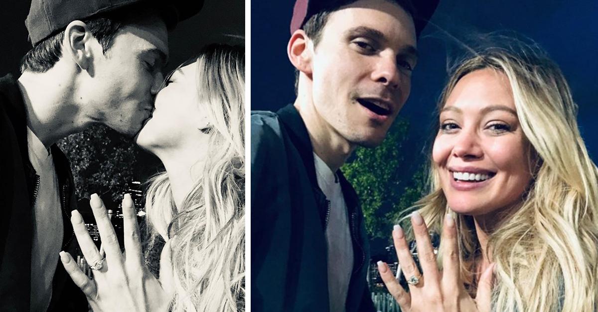 Hilary Duff anuncia su compromiso con el músico Matthew Koma