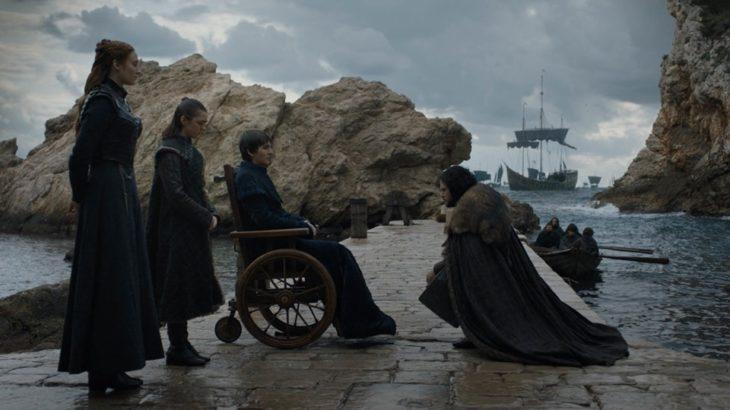 episodio final de Juego de Tronos, se reencuentran en el muelle