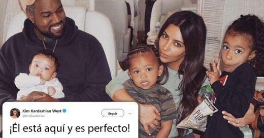 Kim Kardashian anuncia que tuvo un nuevo bebé